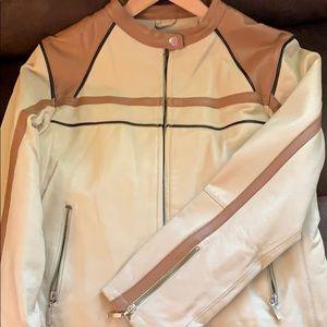 Jackets & Blazers - Leather motorcycle jacket